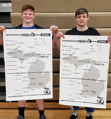 Gladwin Wrestling state qualifiers