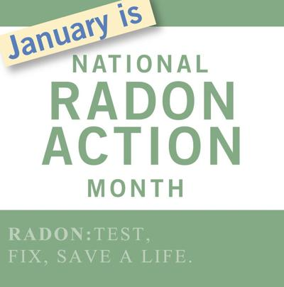 January is Radon Awareness Month – give a can, get a kit!