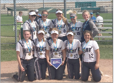Mid Michigan Heat the Traverse City Softball Spectacular Tournament champions.