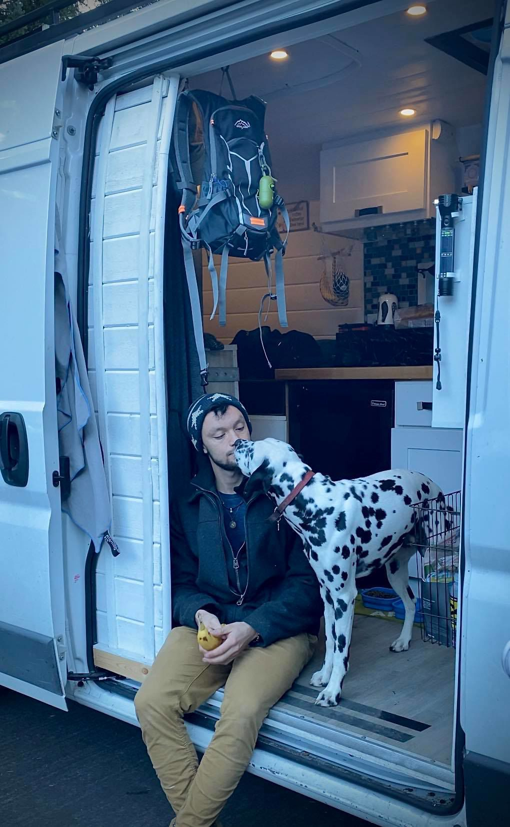 Living the American Dream: One man's journey to living out of a van