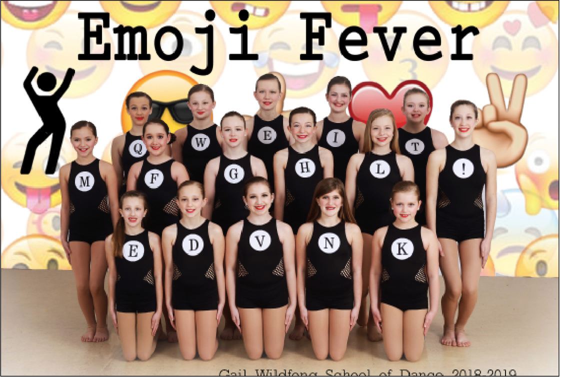 """Junior modern received platinum and 2nd overall for their dance """"Typewriter"""" choreographed by Adrienne Schlitzkus."""