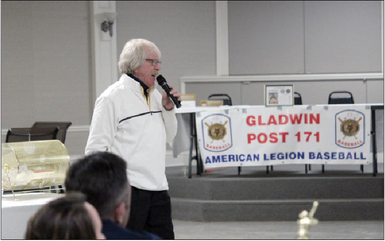Member of the 1968 Tigers World Championship Team Tom Matchick provided entertainment for the large crowd.