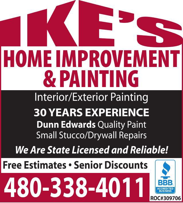 IKE'S Home Improvement and Painting