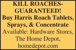 Harris Roach Removal