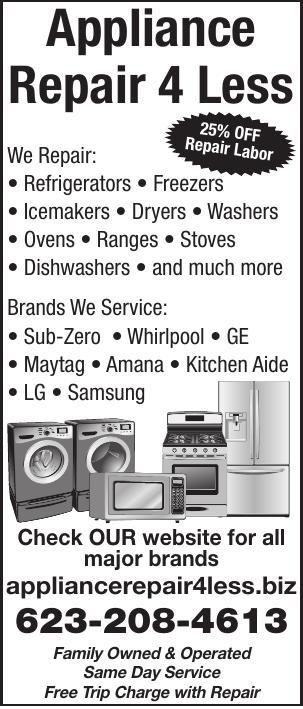 Appliance Repair 4 Less
