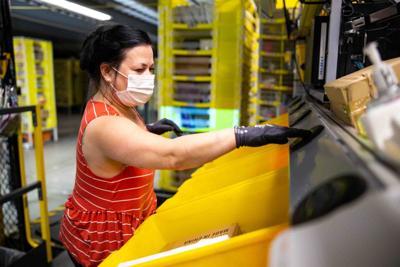 Amazon Robotics fulfillment center