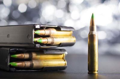 Bright AR-15 ammo