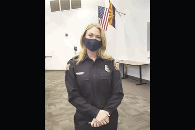 Capt. Ashley Losch with the Glendale Fire Department