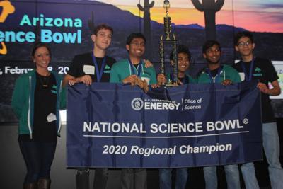 BASIS Chandler Science Bowl winners