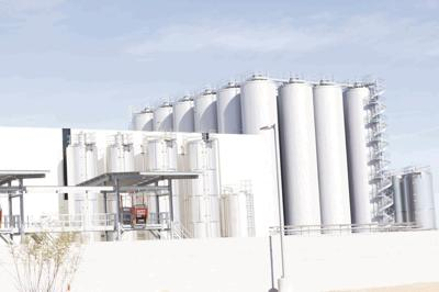 Gov. Doug Ducey White Claw production facility
