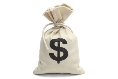 Tied Bag of Money Glendale Budget