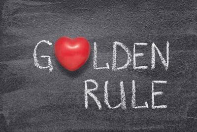 golden rule heart