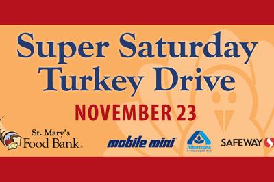 Super Saturday Turkey Drive