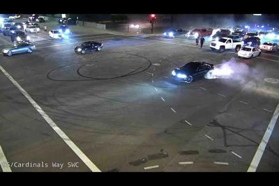 illegal Glendale intersection takeover