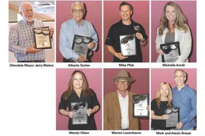 AMSAF Visionary Award winners