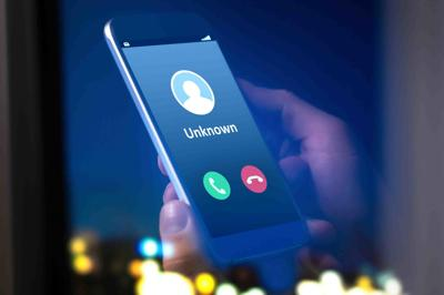Unknown number calling robocall