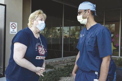 Debbie Olsen talks to Dr. Vinay Bangalore