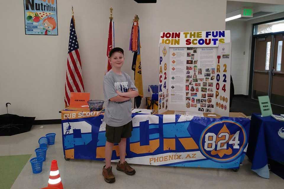 Cub Scout Pack 824 part of 'Scout Me In' campaign | Youth Of