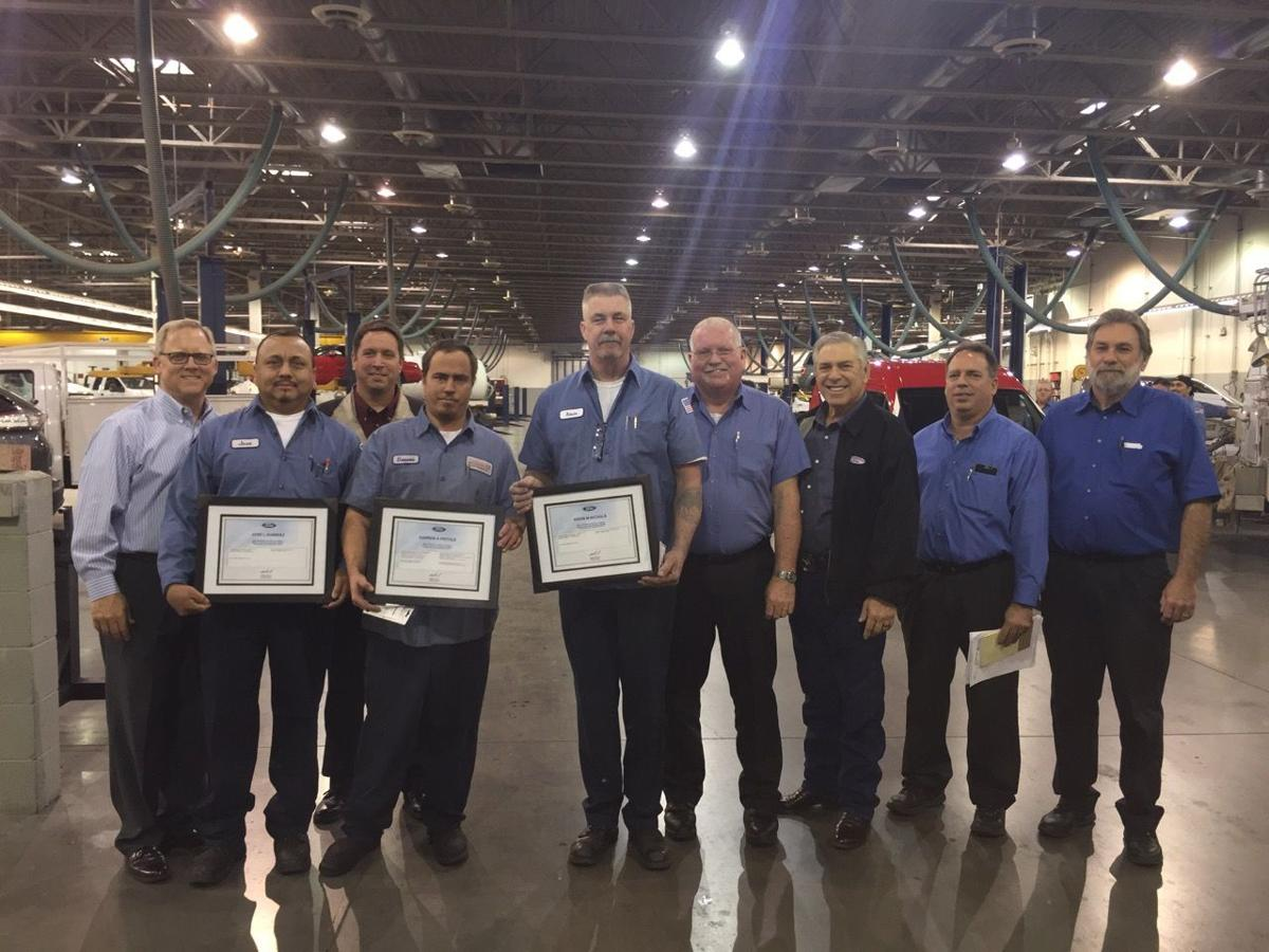 Master techs recognized