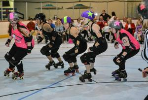 Local woman builds roller derby by rolling out eighth season