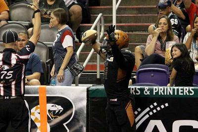 Arizona Rattlers touchdown