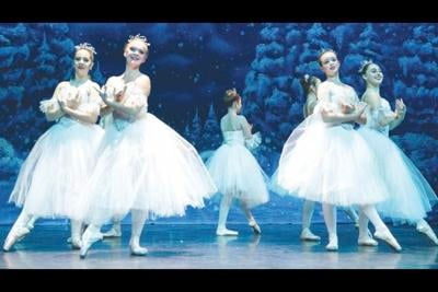 Kayla Rhodelander, Katrina Brooks, Brooklyn Egli and Natasha Simonian The Nutcracker Suite