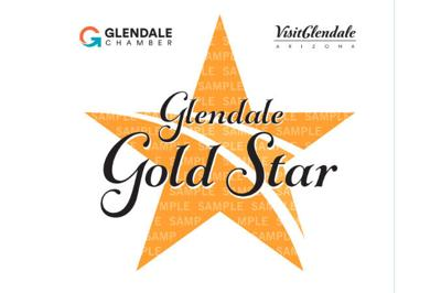 Gold Star from the Glendale Chamber of Commerce