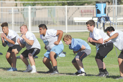Cactus football ready for summer competition