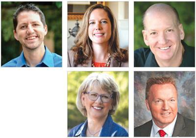 Paul Boyer, Shawnna Bollick, Douglas Ervin, Anthony Kern and Judy Schwiebert