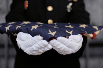 Ceremonial Flag offering