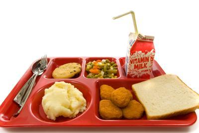 School Lunch Tray PUSD Free Food