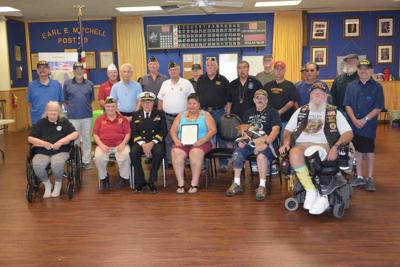 Vietnam veterans lapel pin Commemoration Pinning Ceremony Humana