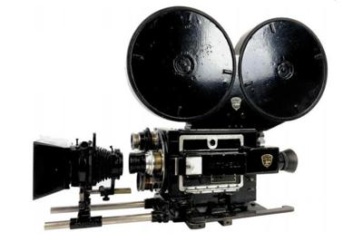 Mitchell 35mm No. 492 Model GC Navy motion picture camera