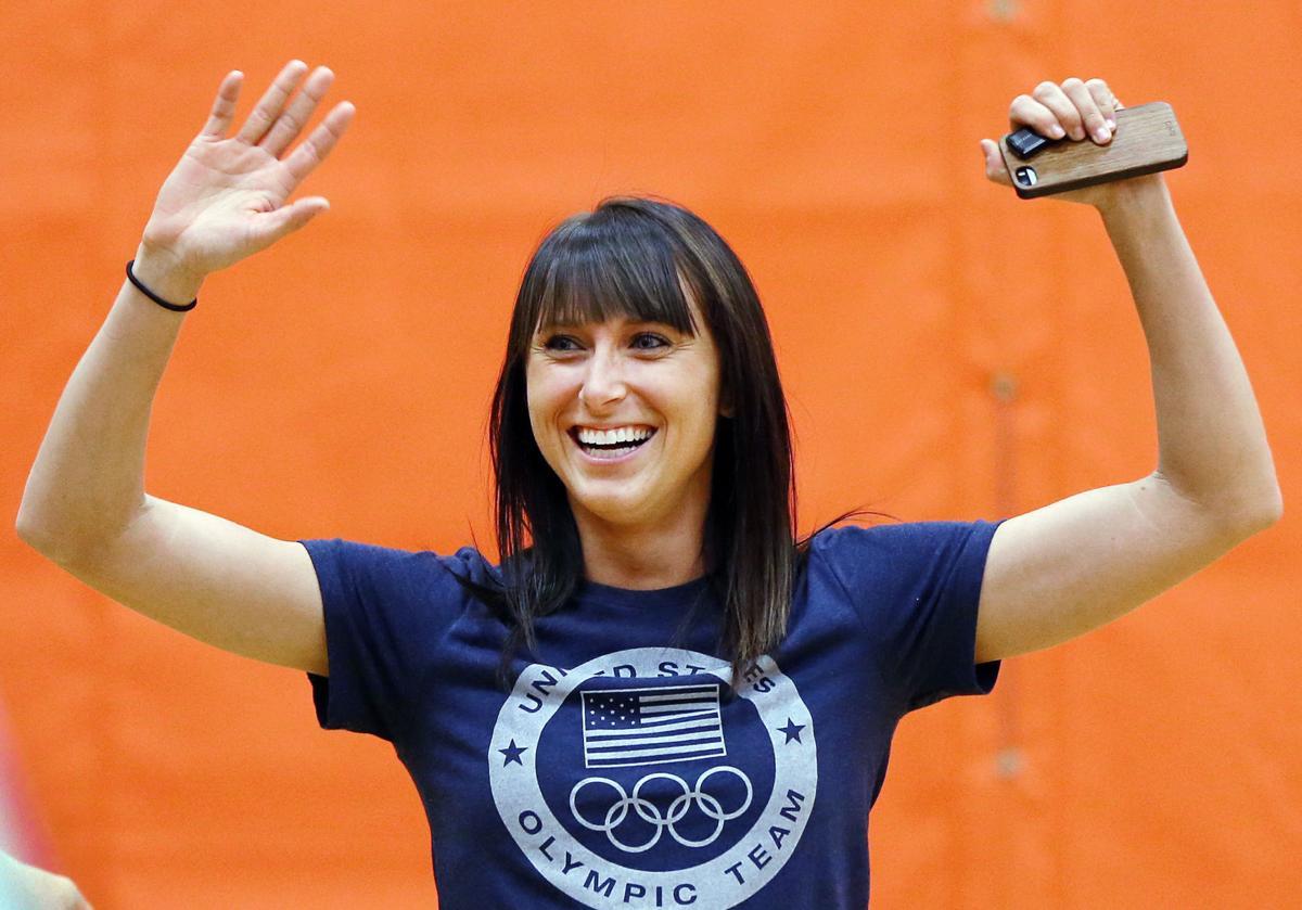 Olympian Shelby Houlihan assembly