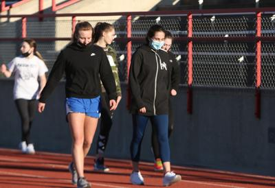 MCHS girls track - Monarch