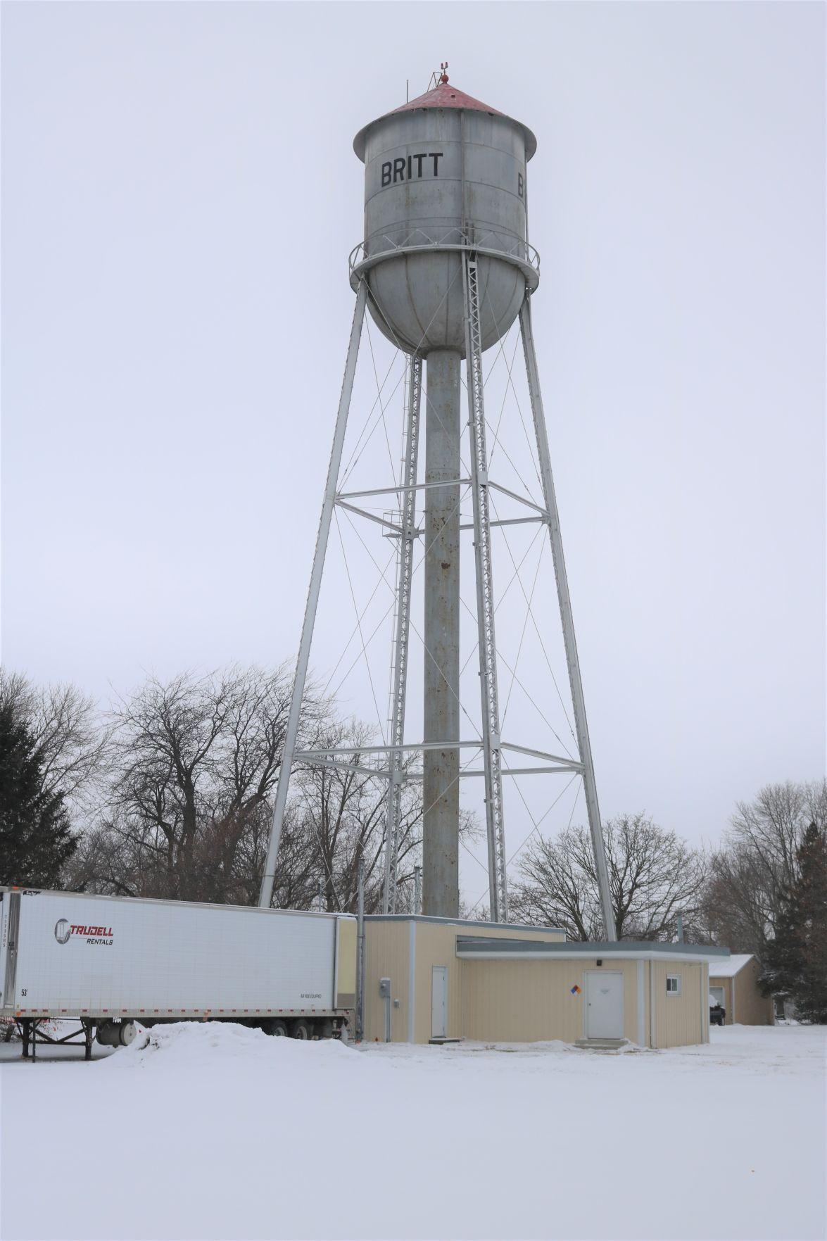Britt's Oldest Water Tower.JPG