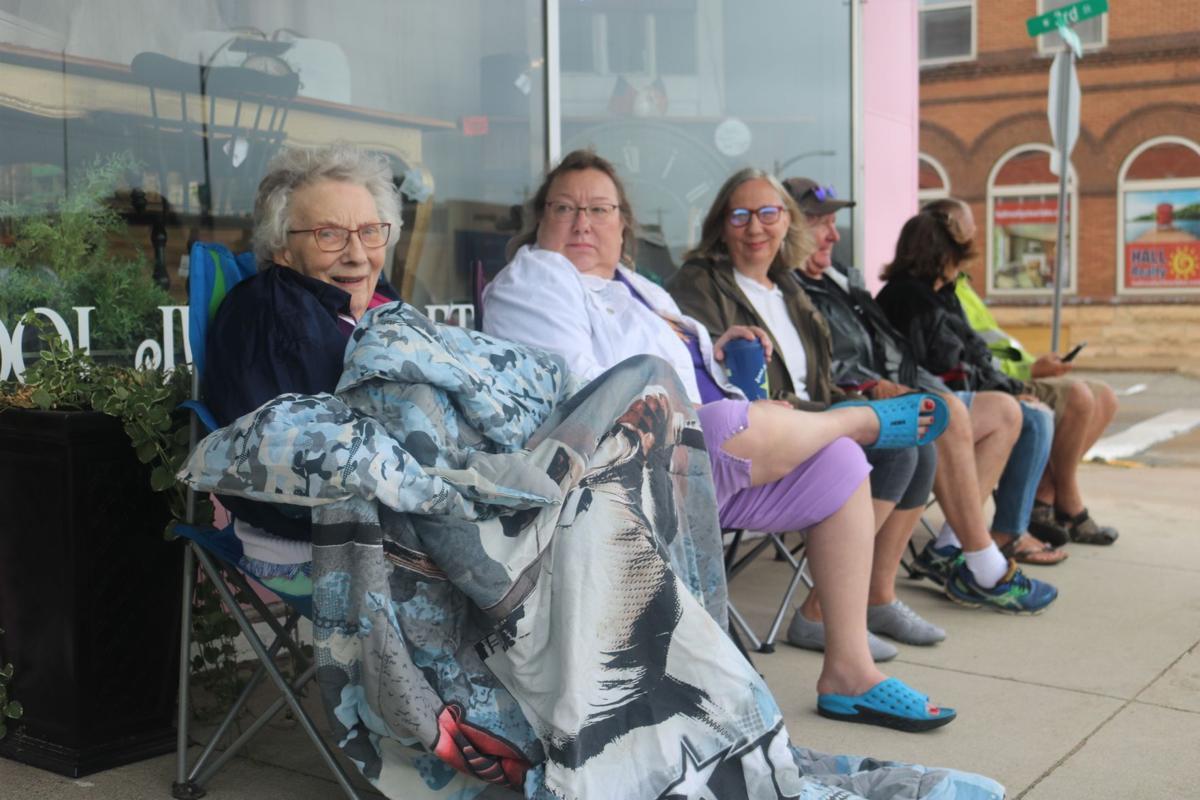 Carol Pueggel and Family Duesey Days Parade.JPG