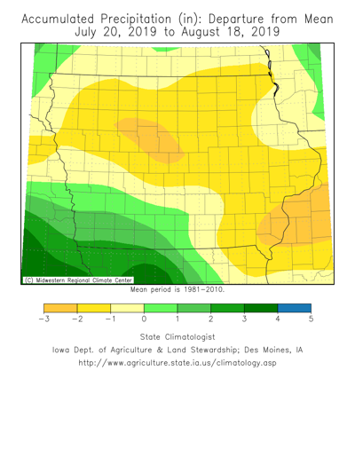 Drought conditions growing in Iowa?