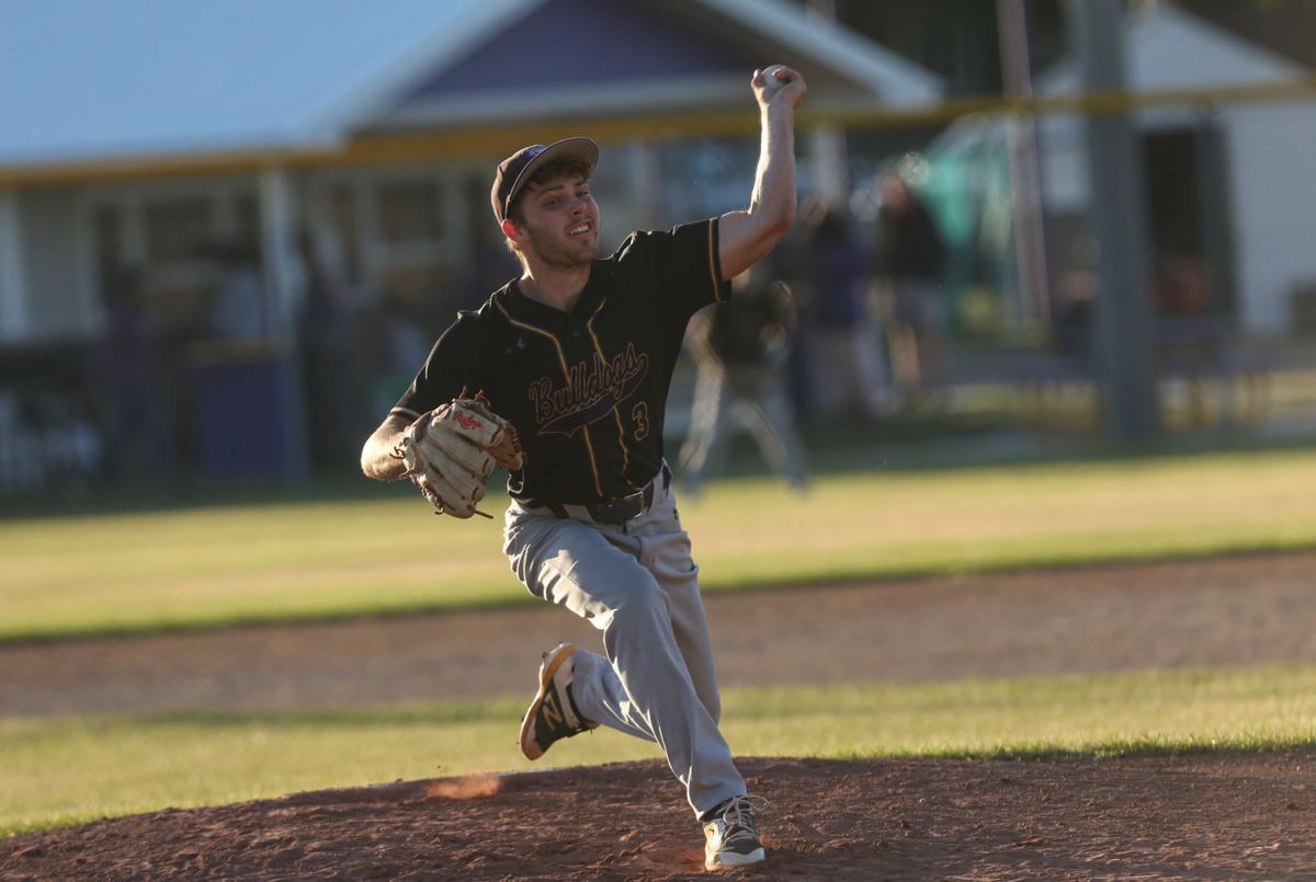 Lake Mills baseball vs Osage - Ramaker pitch