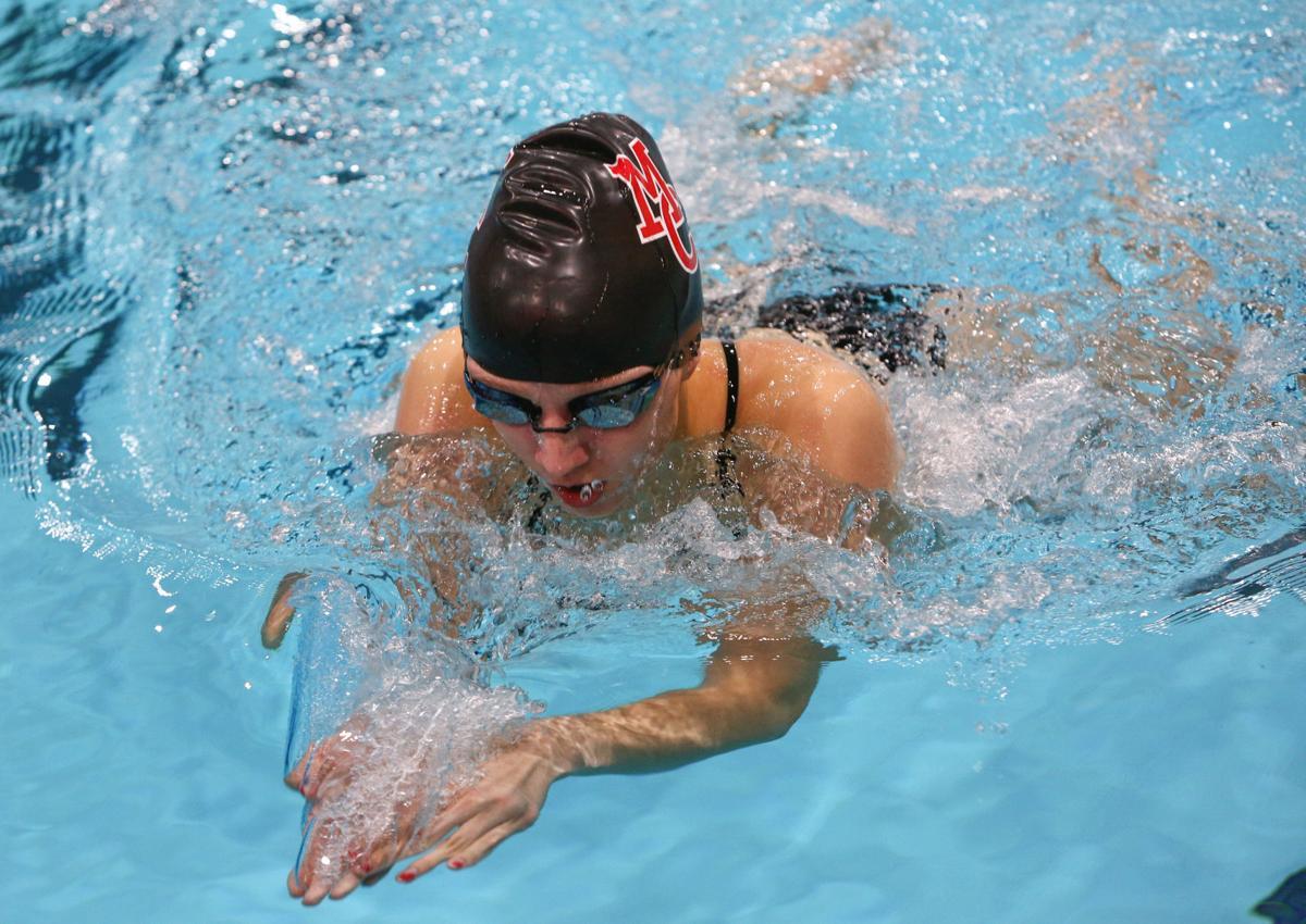 Mason City girls swimming