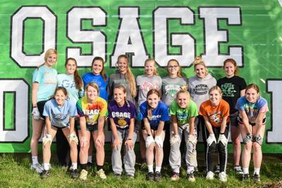 2019 Osage Softball team