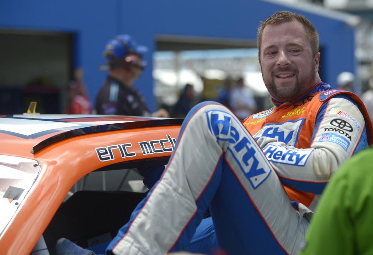 NASCAR Obite Eric McClure Auto Racing