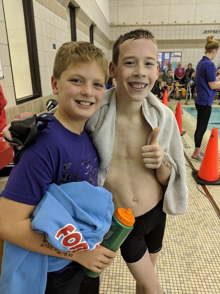 FC YMCA swimmers 2