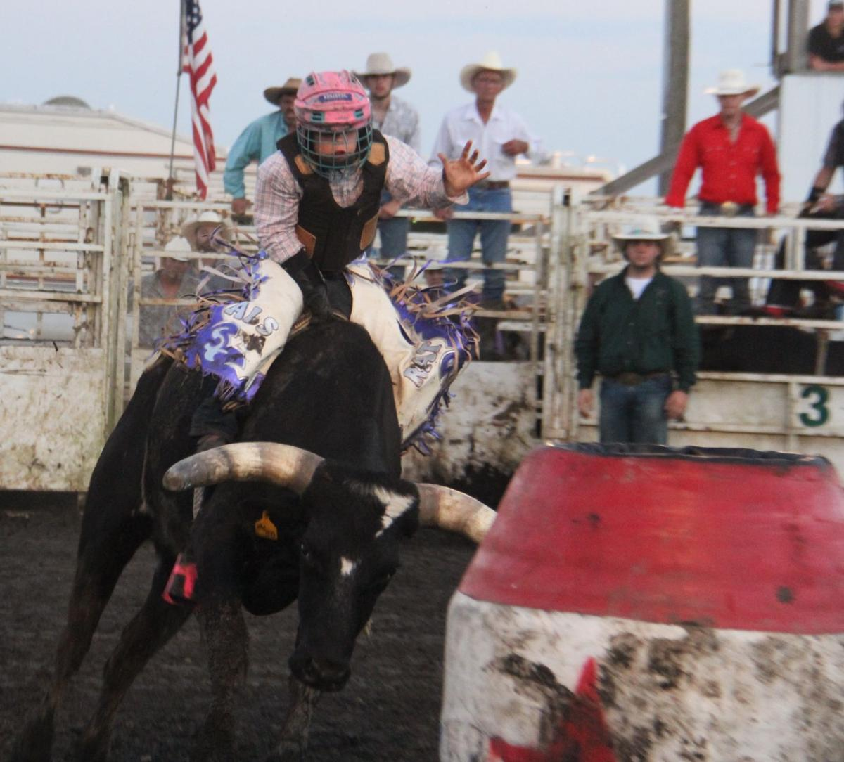 Winn Co Fair- rodeo bull rider