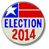 Election 2014 button