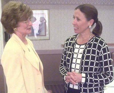 De Byerly and Marilyn Quayle