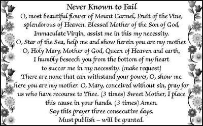 Prayer to the Blessed Virgin