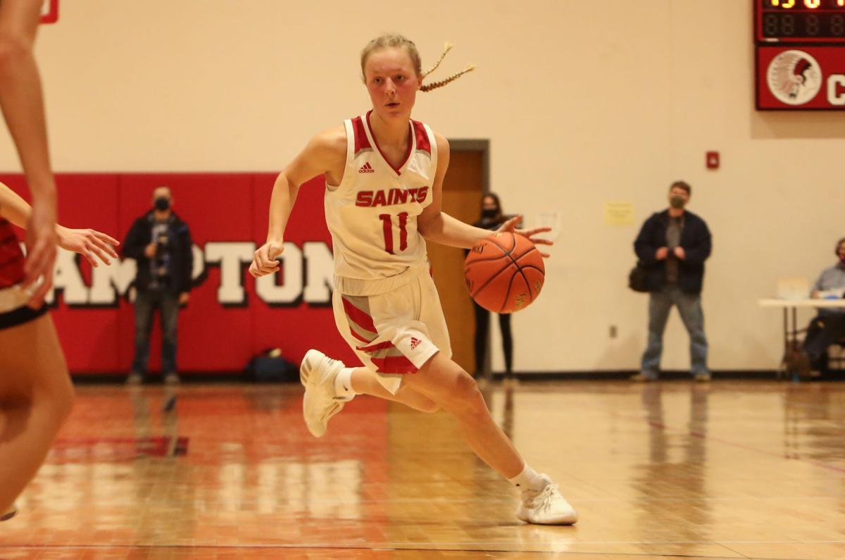 St. Ansgar vs Turkey Valley girls basketball regional championship - Anderson