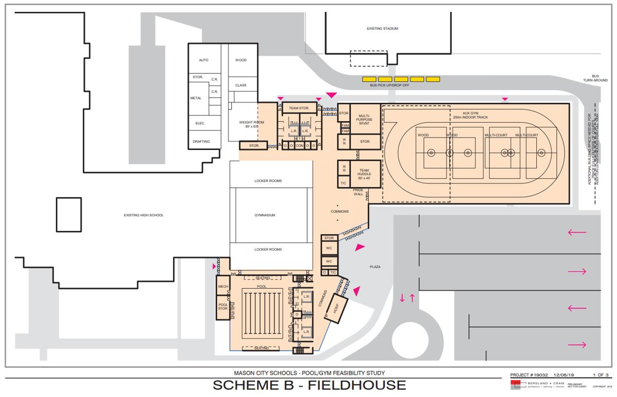 Scheme B - Field house