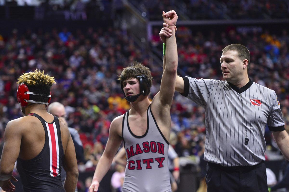 High School wrestling: Cullan Schriever's 3-peat bid ends in